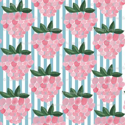 Raspberries and stripes