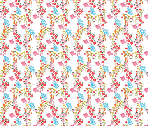 Little Gardener fabric by thislittlestreet on Spoonflower - custom fabric
