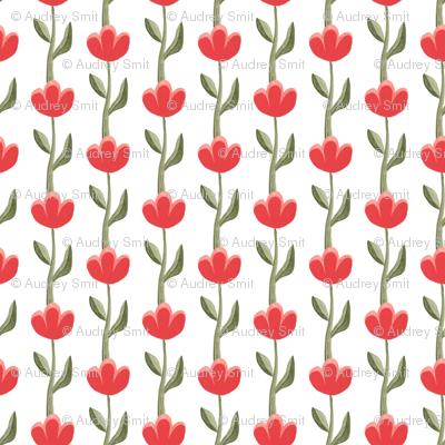scandinavian tulips