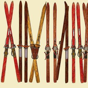 ski line-up 18 inch