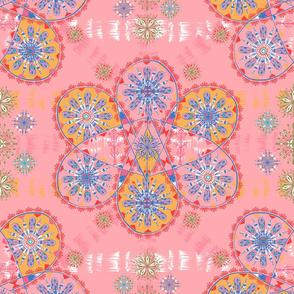 Drop Paisley Pink