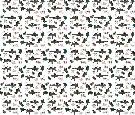 assorted fabric by coppercatkin on Spoonflower - custom fabric