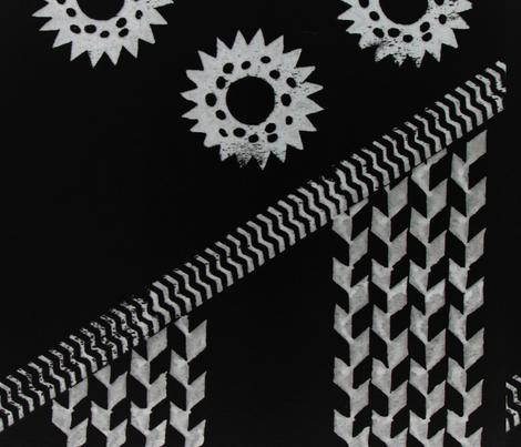 Night Wana fabric by kapahawaii on Spoonflower - custom fabric