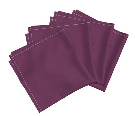 Dark Grape Magenta Solid