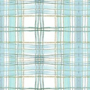 pastel plaid (mint)
