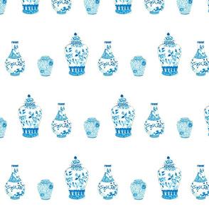 kara mckean watercolor ginger jars