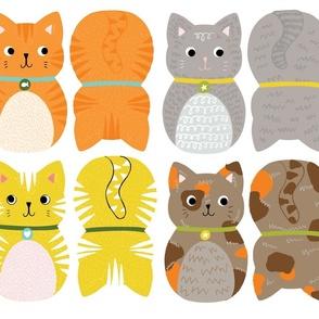 Cat Plush-fat quarter project!
