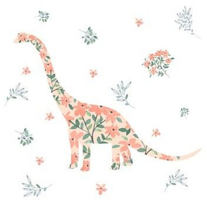 Floral Dino