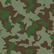Splinter B Camo Sparse Rain Drops Lighter Shade