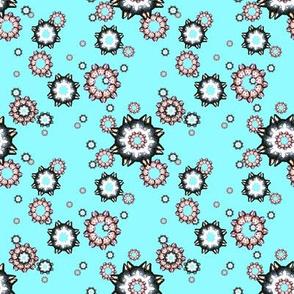 Kitty Snowflake Tile