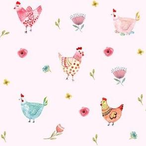 Polka Girls - Pink