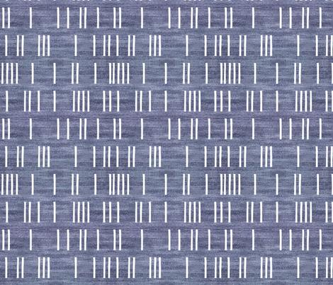 DENIM_LIGHT_BOHO_MUD_CLOTH fabric by holli_zollinger on Spoonflower - custom fabric