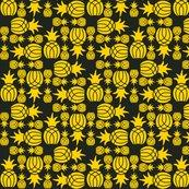 Pineapple_weave_sqaure_yellow_on_black_shop_thumb