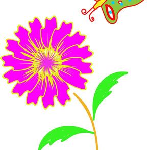 flower_and_butterfly