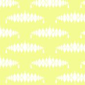 Diamond Broach Damask-Yellow