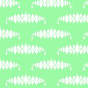 Diamond Broach Damask-Green