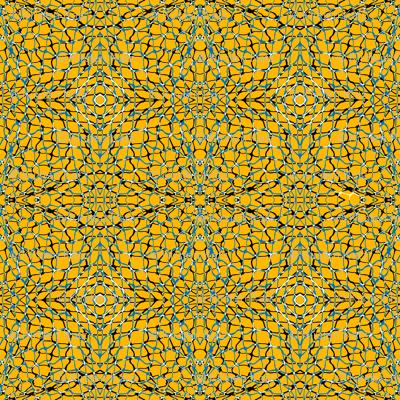 Fishing Nets in Mustard