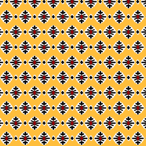 Irene France-(french country yellow) fabric by franbail on Spoonflower - custom fabric