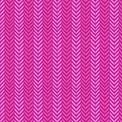 Hot Pink Herringbone chevron / hot pink magenta pink yarrow