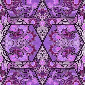 Do the Purple Hexagon Twist
