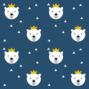 Polar Bear King blue
