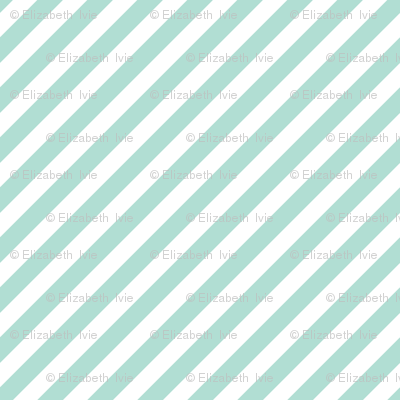 aqua diagonal stripes