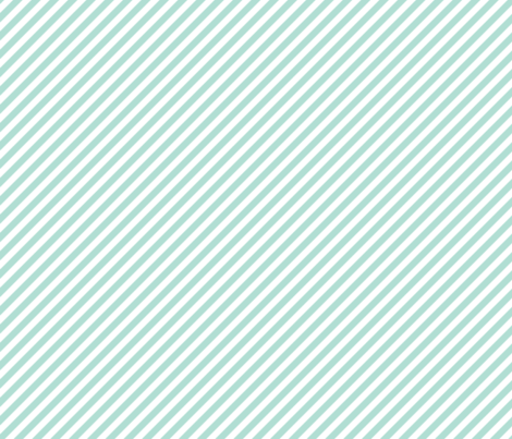 aqua diagonal stripes fabric by ivieclothco on Spoonflower - custom fabric
