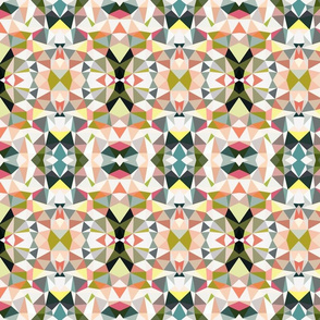 Tropical Garden Tribal SMALL PRINT
