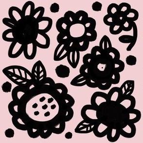 Big Flowers Pink