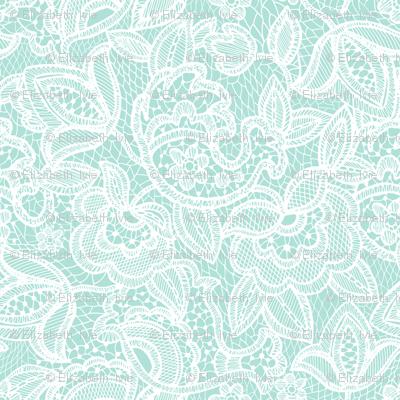 lace // mermaid bodice
