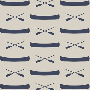 canoes on beige || adventure camp