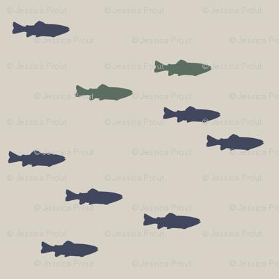 fish on beige || adventure camp