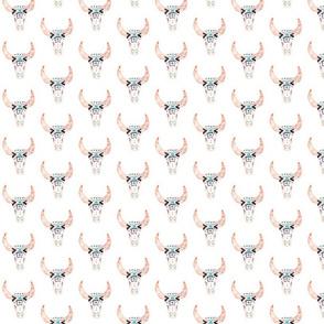 Boho Aztec longhorn Pattern