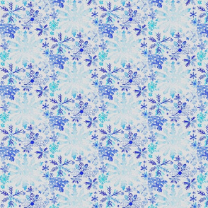 Winter Snowflake Pattern