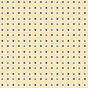 Mistletoe Tiny Wonky Squares