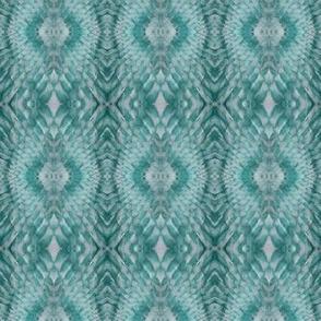 Snake Diamonds (Teal Green))