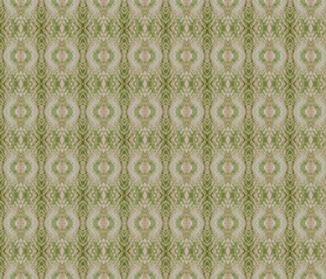 Snake Diamonds (Beige & Lime) fabric by belovedsycamore on Spoonflower - custom fabric