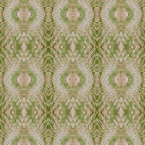 Snake Diamonds (Beige & Lime)