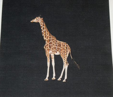 Zebrawood Giraffe 2 for Pillow