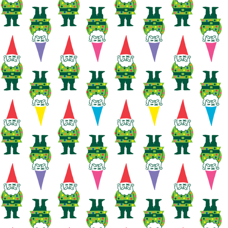 sausalito gnomes fabric by andiart on Spoonflower - custom fabric
