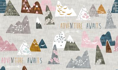 Adventure Awaits (pink) MICRO