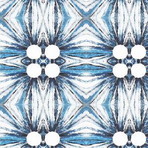 Blue and grey abstract design