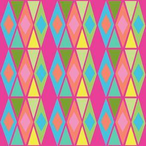 diamond multi pink