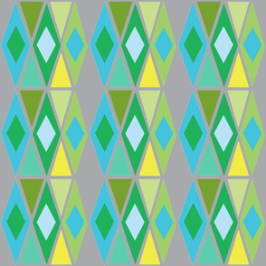 diamond multi-green
