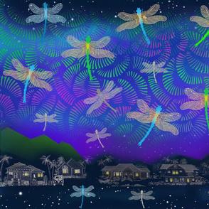 Aurora Dragonfly Night Manoa