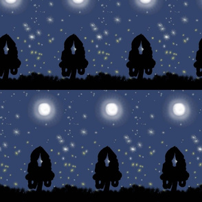 Fireflies and Moonbeams