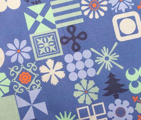 Christmas Ornaments* (Shadow) || Christmas holiday typography symbols stars snowflakes Santa Claus flowers holly