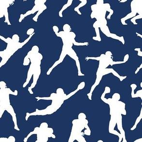 Football Players - Dark Blue // Small