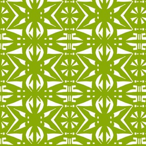 BELARUS PARTY PRINT Leaf Green