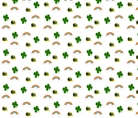 St. Patricks Day- smaller fabric by mlc13 on Spoonflower - custom fabric